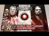 WWE Wrestlemania 31 Brock Lesnar vs Roman Reigns Full Match Highlights HD
