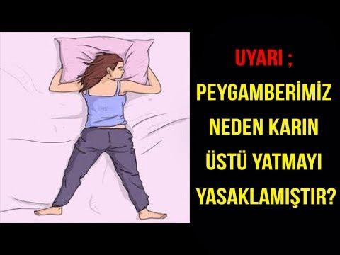 UYARI Peygamberimiz neden karın üstü yatmayı yasaklamıştır -