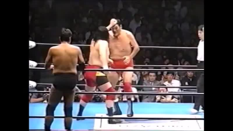 1997.10.21 - Stan Hansen/Giant Baba/Jumbo Tsuruta vs. Giant Kimala II/Tamon Honda/Masanobu Fuchi