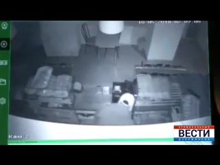 Очередная кража со взломом грабителя