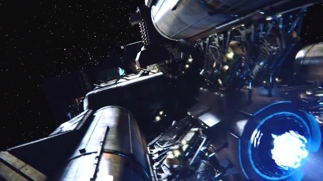 Spaceship P'n'KWC Canterbury (The Expanse - 1x01 - Dulcinea) · coub, коуб