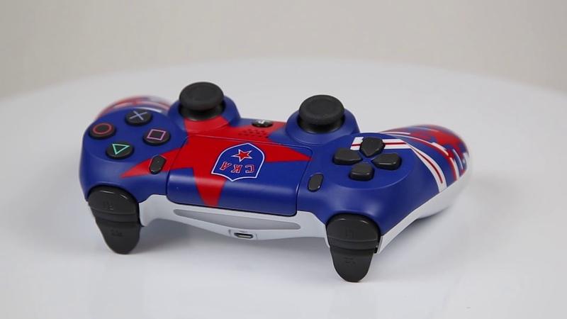 Кастомизированный геймпад dualshock4 для PS4 ХК СКА