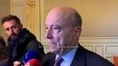 Alain Juppe :ceux qui appellent à poursuivre la mobilisation sont des dangers pour la démocratie