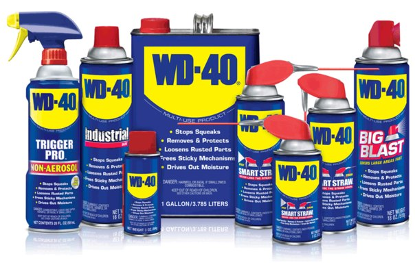 13 unusual ways of use WD-40