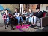 [BTS] NU'EST 'Съёмки для календаря 2015г'