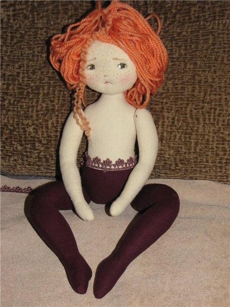 Выкройка куклы сесиль