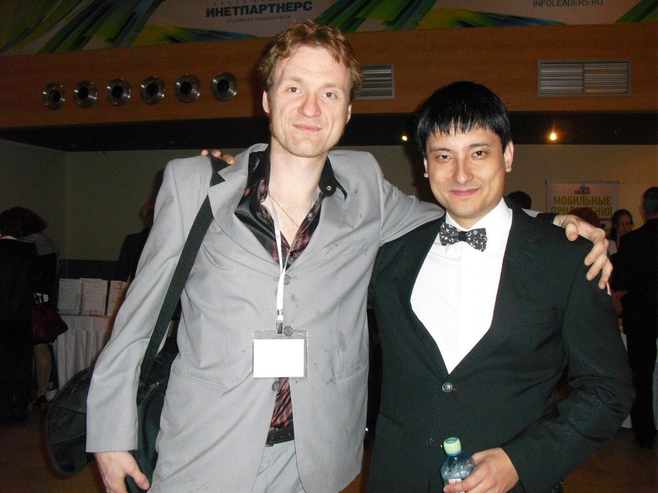Сергей Архангельский и Азамат Ушанов