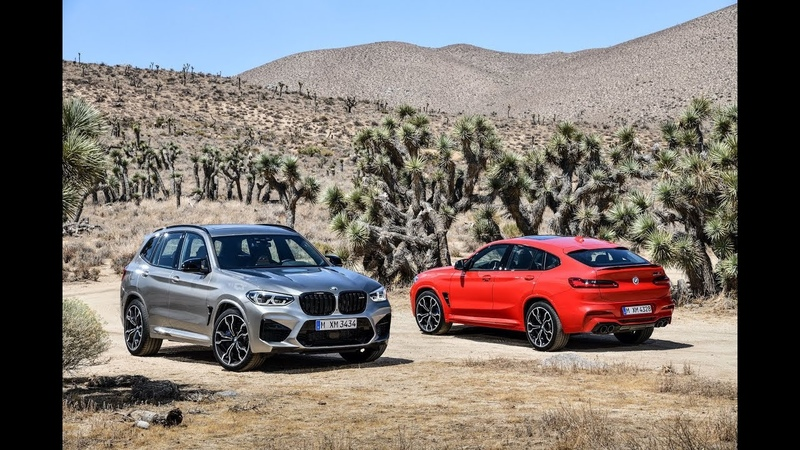 A closer look at the new BMW X3 M SUV