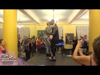 Tony Pirata (with Ekaterina Semenova) - Tarraxhina Workshop @ Russian Bachata Festival & Salsa Room 2013