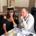 "ZARA on Instagram: ""Завтрак с Жераром в Витебске☕️ Говорим о творчестве, о Высоцком, о жизни, любви... #GérardDepardie"""