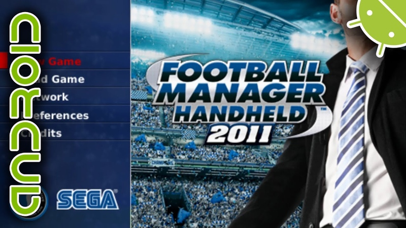 Football Manager Handheld 2011 | NVIDIA SHIELD Android TV | PPSSPP Emulator [1080p] | Sony PSP