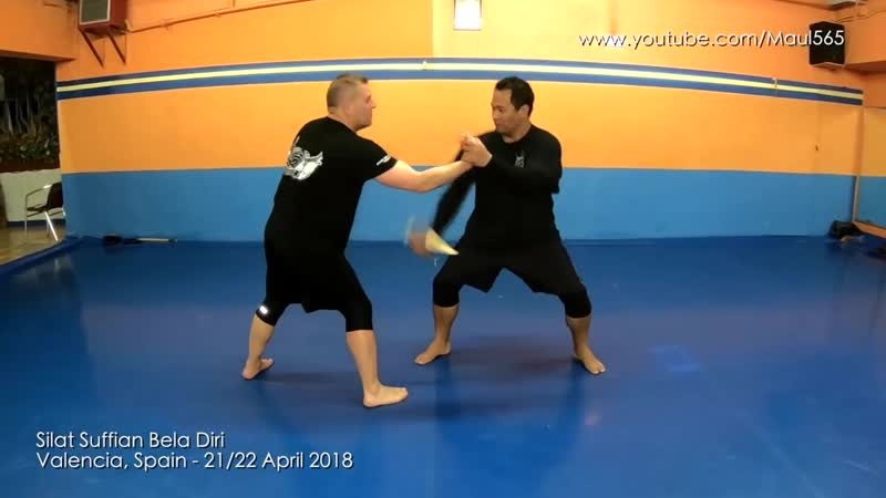 Palm Stick Kubotan Vs Knife Attack Silat Suffian Bela Diri 1