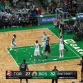 Boston Celtics on Instagram Hayward grabs the steal then find Morris with the perfect pass for the and-one bucket!
