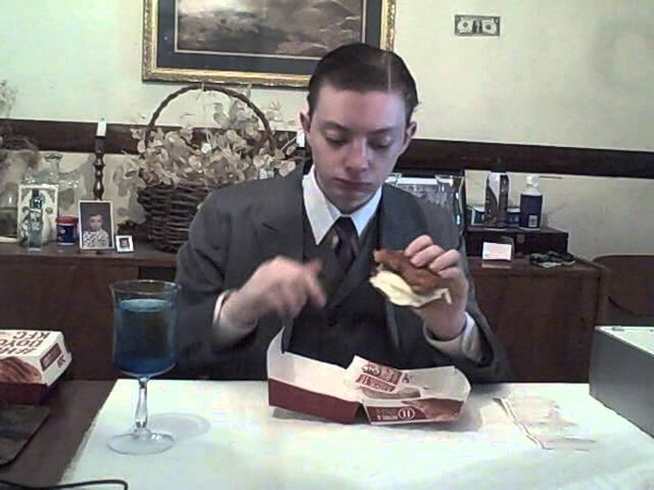 KFC Double Down Chicken Sandwich - Running On Empty - Food Review