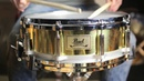 Used Pearl Free Floating Brass Snare 5x14