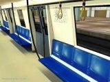 Calatorie cu bombardier movia, trainz /Bucharest metro in trainz