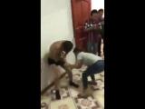 Китайская жена застукала мужа с любовницей
