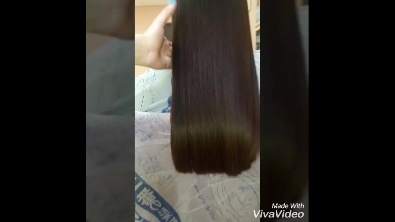 нанопластика волос эффект на 4-6 мес