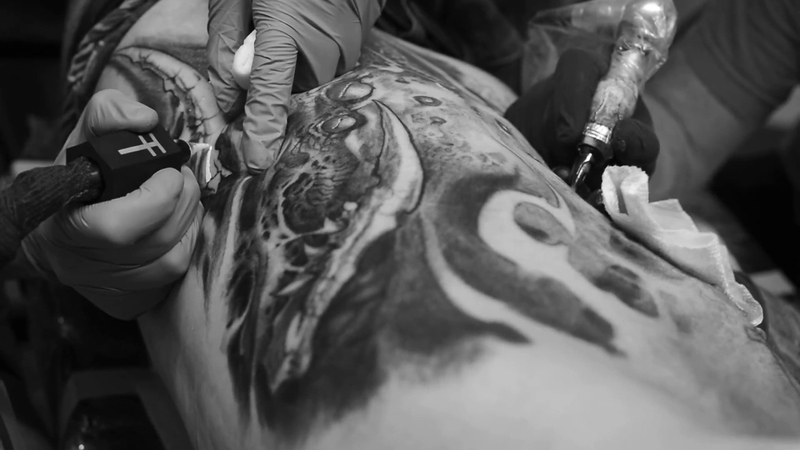 Toxyc Xlr Jesse Levitt tattoo collaboration
