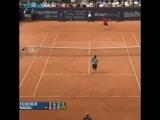 The best Federer v Nadal point youve ever seen