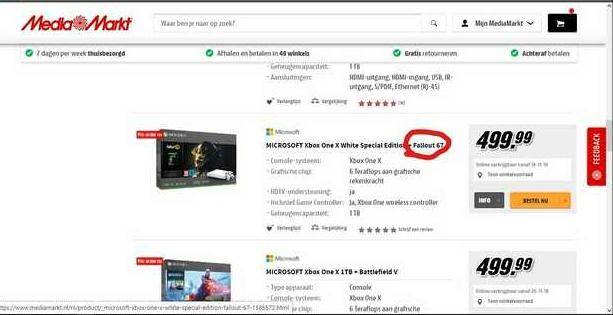MediaMarkt явно что то знает о новой части Fallout