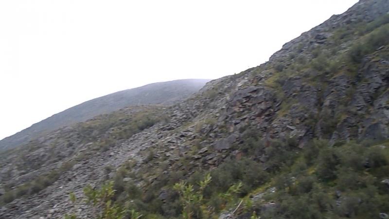 водопад с пика Борис