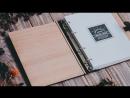 Ежедневник SPACE Экзотические породы дерева итальянская кожа и ручная работа