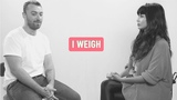I Weigh Interviews Ep 1 Sam Smith speaks to Jameela Jamil about body image and self acceptance.