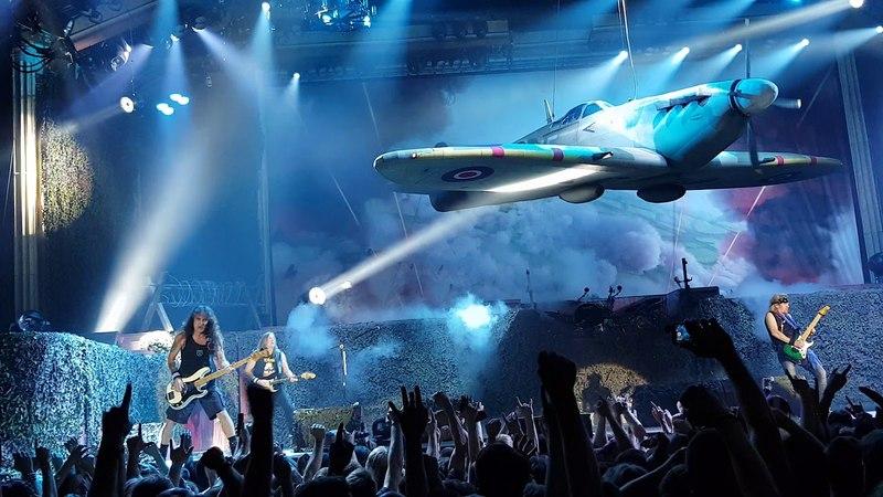 Iron Maiden Aces High live in Tallinn on 26.05.2018