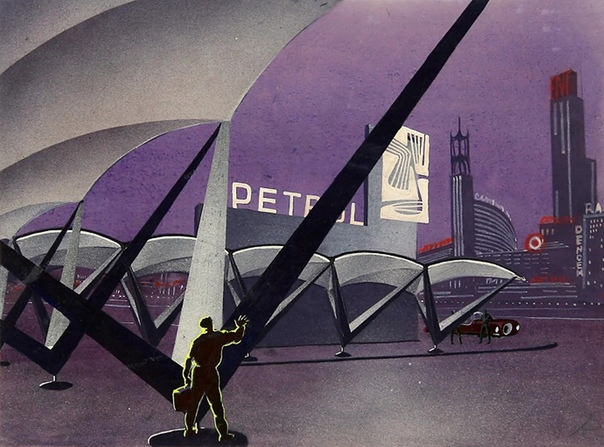 Иллюстрации к роману Рэя Брэдбери «451 градус по Фаренгейту»