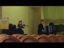Veronika Gremyachikh (10 лет). G. Hollender, Light Concerto for Violin a-moll