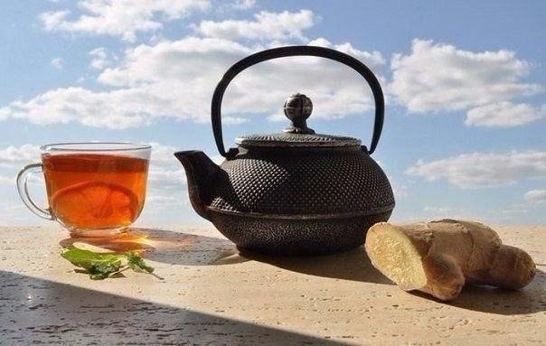 Чай который растопил все килограммы.