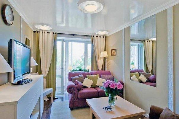 Маленькая уютная гостиная (1 фото) - картинка