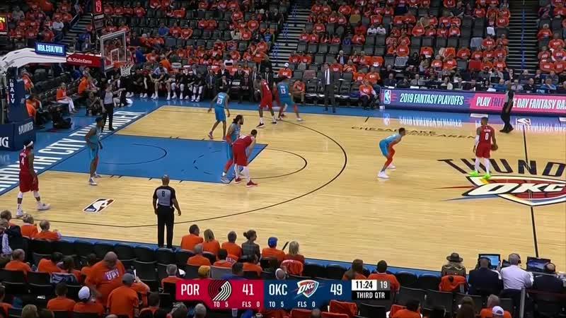 Oklahoma City Thunder - Portland Trail Blazers 19.04.19