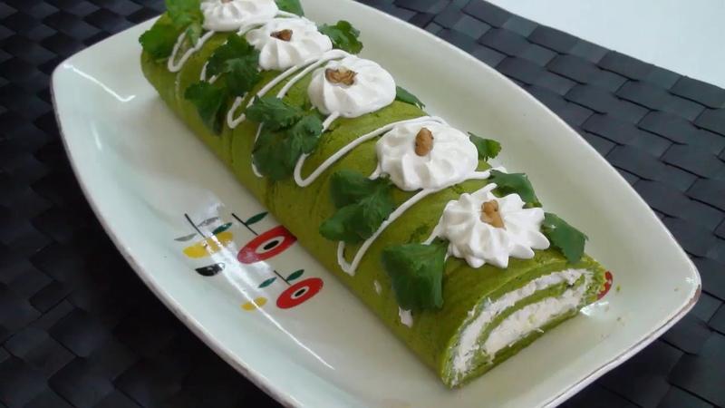 Ləzzətli Ruler salat.Geyri adi görünüşü və tamı damagınızda galacag salat.