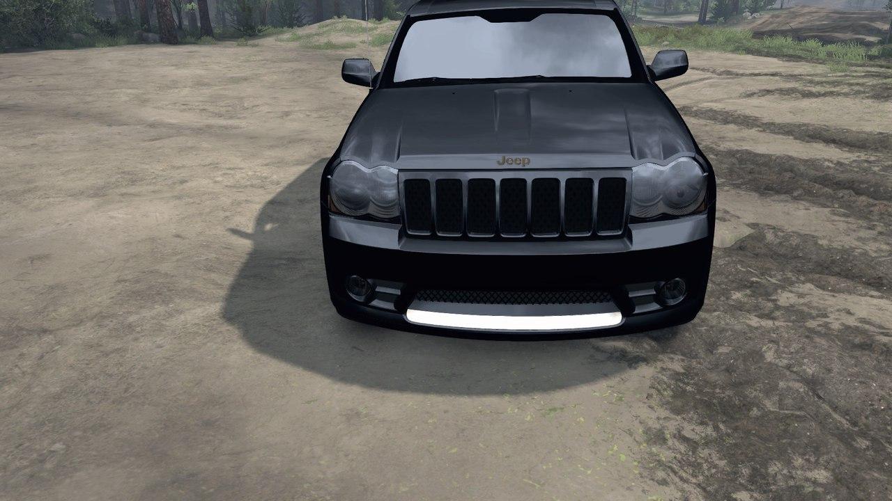 SRT8 в старом кузове 2009 для Spintires - Скриншот 1