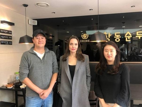 Сын Анджелины Джоли и Брэда Питта отправится учиться в Южную Корею