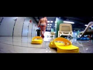 Aqua-Baby /Timelapse/ *** Аквапарк Лебяжий Минск *** GoPro (FullHD)