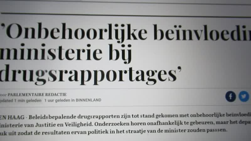 Minister Grapperhaus deugt voor geen meter