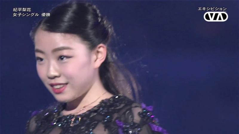 紀平梨花 エキシビションアンコール 2018 Rika Kihira EX