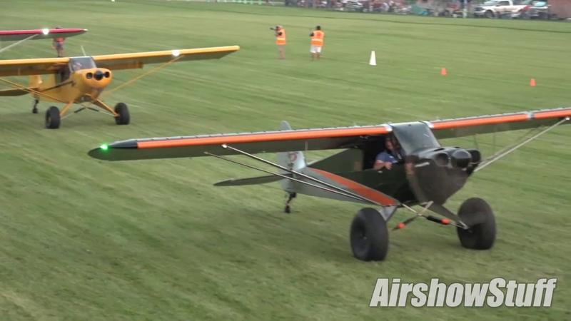 Twilight STOL Competition Part 1 EAA AirVenture Oshkosh 2018