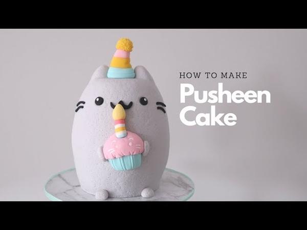 How to make Pusheen cake
