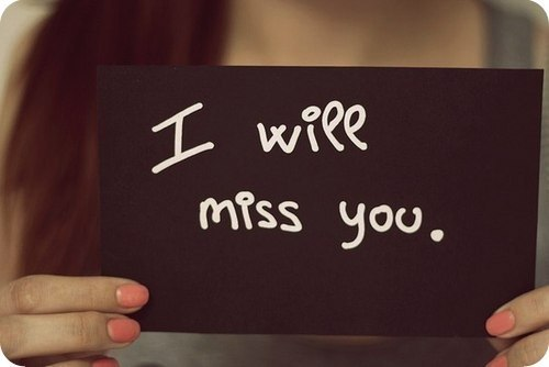 Я буду скучать по тебе! - EnGrammar