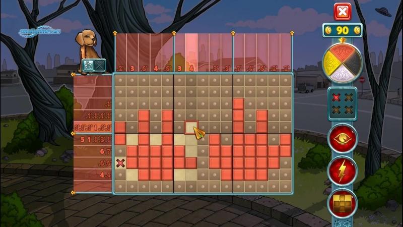 Rainbow Mosaics 7 Strange Thing Геймплей