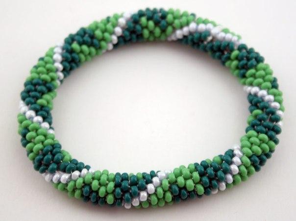 Изображения Простые браслеты из бисера своими руками.