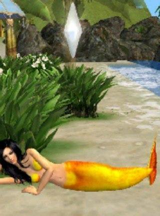 Sims как создать русалку