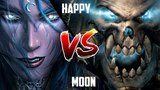 WC3 Moon (Night Elf) vs. Happy (Undead) ESWC 2010 G3 Warcraft 3