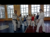 Как начинать тренировку в паре в Кёкусинкай карате. Быть сосредоточённым, готовым, внимательным. Быть хищником а не жертаой