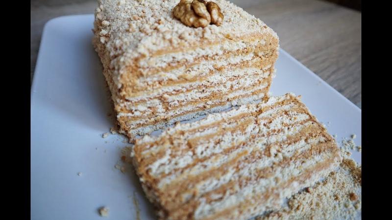 Торт БЕЗ ВЫПЕЧКИ из Трех Ингредиентов 🍰 Самый Легкий Рецепт