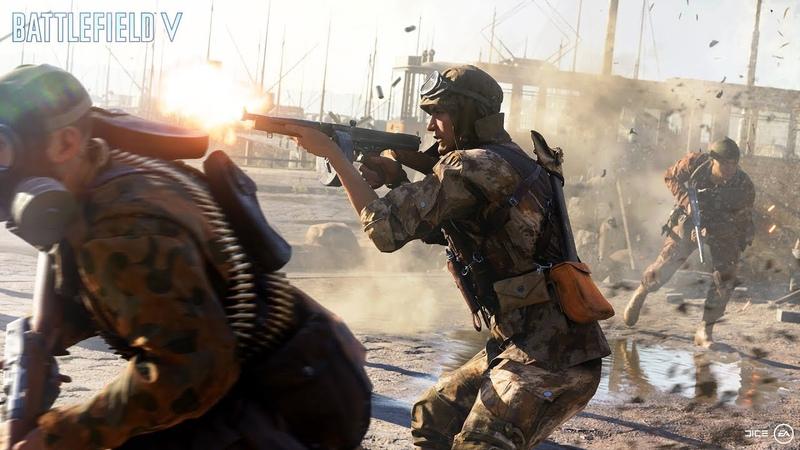Авторы Battlefield 5 показали кусочек Королевской битвы